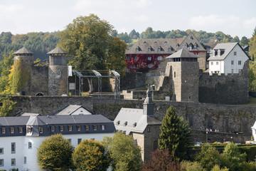 """Deutschland, Monschau; """" Burg Monschau """" ."""