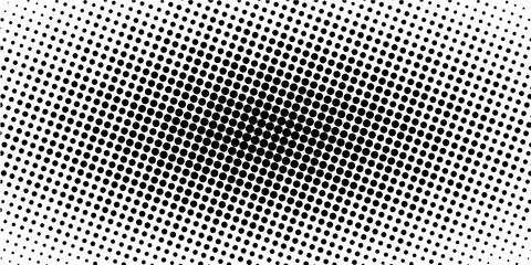 horizontal halftone banner, vector comic manga dots. pop art template