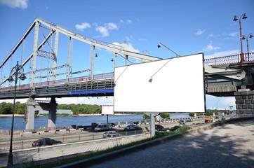 billboard on the city quay