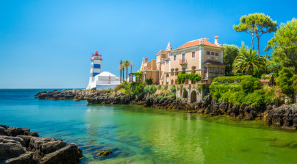 Scenic view in Cascais, Lisbon district, Portugal