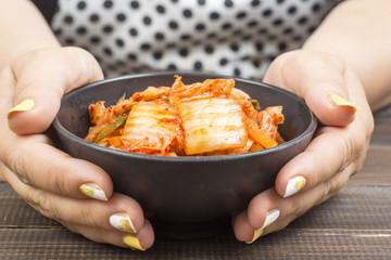 Kimchi korean napa cabbage super food