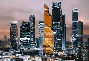 Moscow International Business Center (Moscow City), Russia