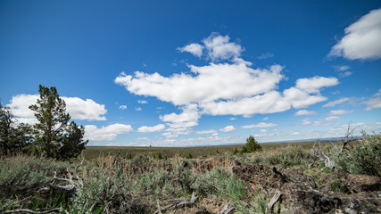 Empty plain on Steens Mountain 2