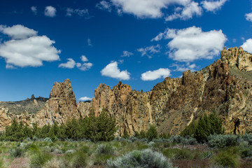 Smith Rock State Park Cliffs