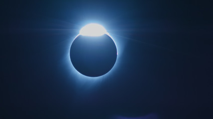 Diamond Ring Total Solar Eclipse