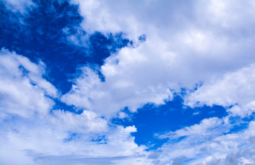 clouds blue sky beauty