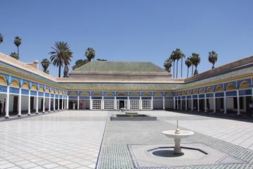 Bahia Palace in Morocco