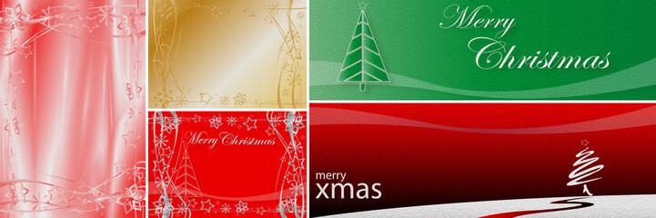 Collage - Weihnachten - Panorama