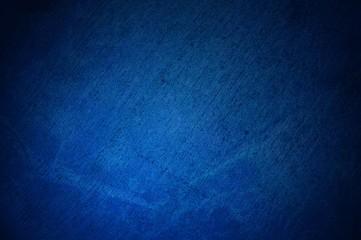 Blaue dreckige Oberfläche mit Kratzern