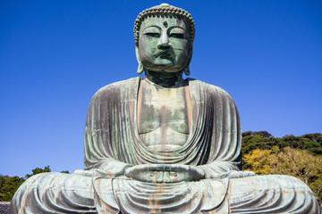 Giant Daibutsu stands on Kotokuin Temple ,  Location   Kamakura  ,Japan  :23 October 2017