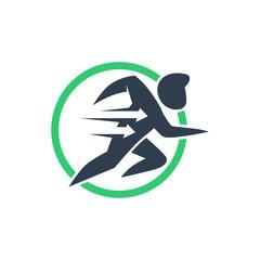 delivery logo. icon. editable. simple