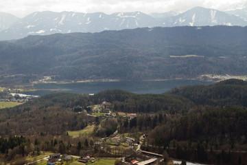 Carinthia: Drau valley and Faaker See lake