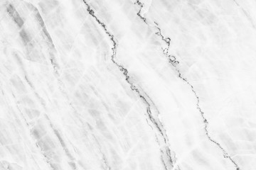 Wall Mural - elegant white marble texture for pattern and background