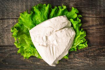 White farm dairy cheese