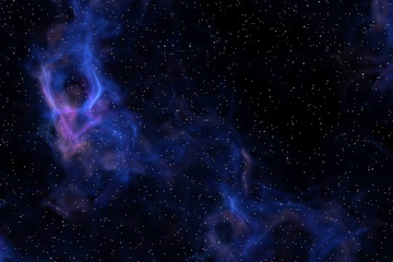 stars in the deep space