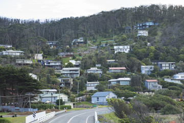 Housing in Apollo Bay Town Along Great Ocean Road