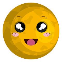 sun star kawaii character