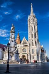 Budapest, Matthiaskirche und Dreifaltigkeitsäule