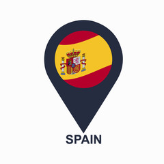 Spanish-pin-flag-vector
