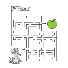 Cartoon Mouse Maze Game