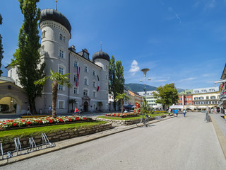 Österreich, Tirol, Lienz, Lienzer Rathaus (Liebburg)