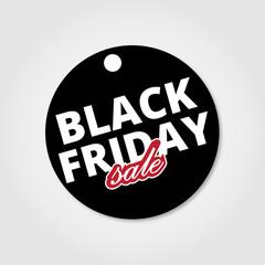 Black Friday SaleIn a circle. Vector