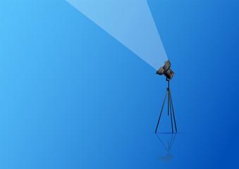 luce, faretti, riflettori, cinema, fotografia