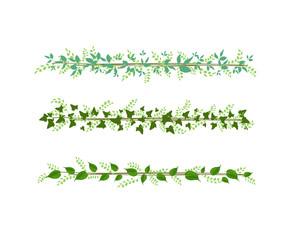 greenery tropical strips