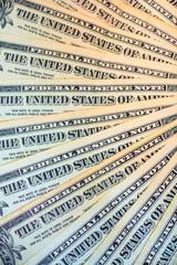 one-dollar bills fan