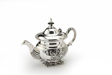 Sheffild chiselled teapot