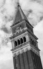 Turm am Markusplatz in Venedig