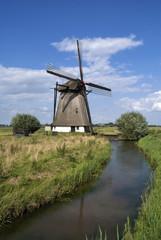 Poster Molens Oude Doornse windmill