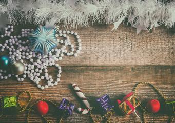 gift boxes, Christmas toys
