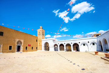 Mosque of Barber in Kairouan. Tunisia, North Africa