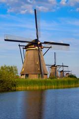 Wienmühlen in Kinderdijk/NL