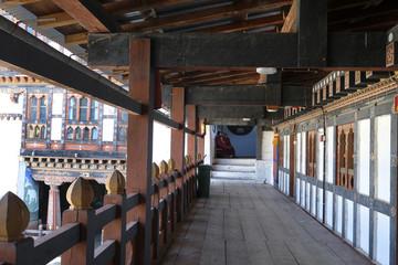 Passageway, Trongsa Dzong, Bhutan
