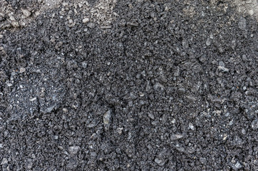black coal for the whole frame