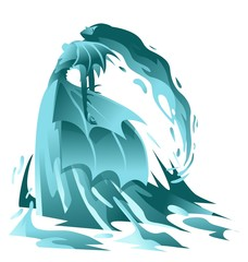 water elemental  fantasy creature
