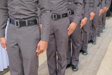 police row