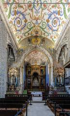 Saint Michael's Chapel of the University of Coimbra, Portugal.