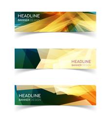 Horizontal Banner set
