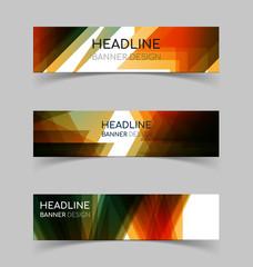 Horizontal Banner set 2