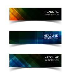 Horizontal Banner set 3