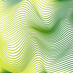 Abstract curve lines background yellow modern curves