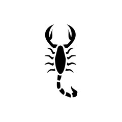 scorpion icon illustration