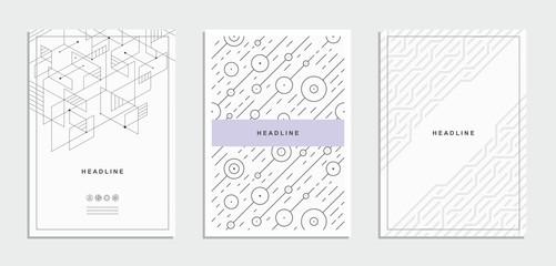 Brochure, flyer, template, corporate identity.
