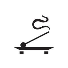 aroma stick  icon illustration