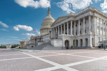 United States Capitol Building east facade, Washington DC, United States.