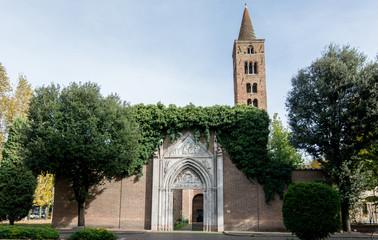 Church of San Giovanni Evangelista in Ravenna, Italy.