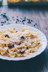Pasta With Salami